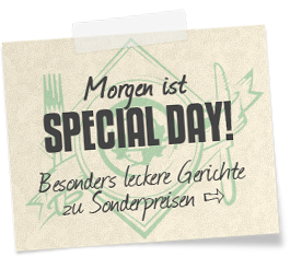 Heute ist Special Day